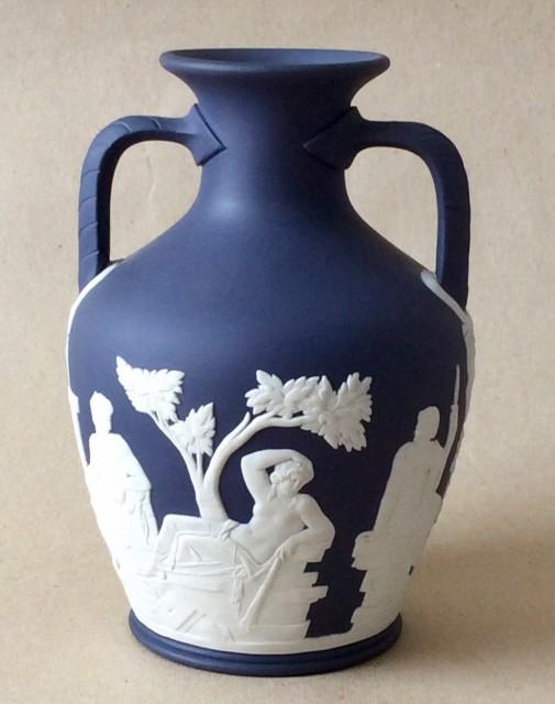 Vintage Wedgwood jasperware Portland vase.