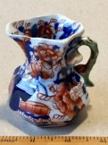 Masons miniature Ironstone Japan pattern Hydra jug