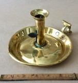 Early 18th century brass chamberstick