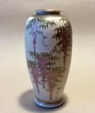 Early C20 Japanese Satsuma vase.