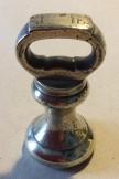 1lb brass bell weight