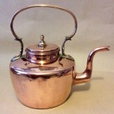 Georgian copper kettle