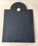 19th century Welsh school writing slate.