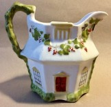 Staffordshire porcelain cottage jug