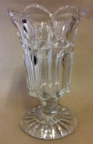 Pressed glass celery vase