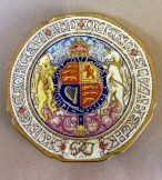 Paragon 1937 Goerge VI commemorative coronation plate