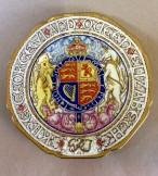 Paragon 1937 Goerge VI commemorative coronation plate