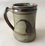 Abuja  studio pottery mug byGugong Bong.