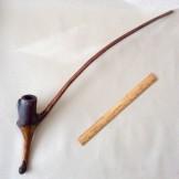 "Rustic ""churchwarden"" pipe"