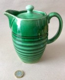 Green Glazed Coffee pot
