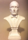 Composition bust of composer Puccini