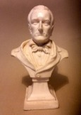 Composition bust of composer Wagner