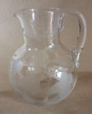 Etched jug and tumbler
