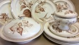 Wedgwood botanical part dinner service