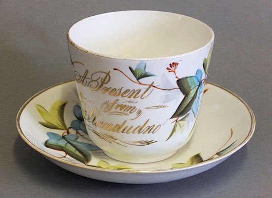 Victorian cup and saucer